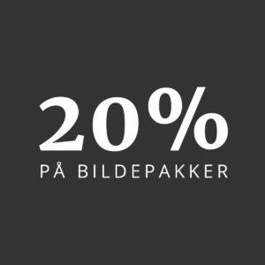 20% på bildepakker